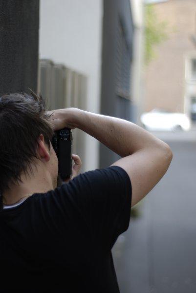 Hinterhof-Fotograf