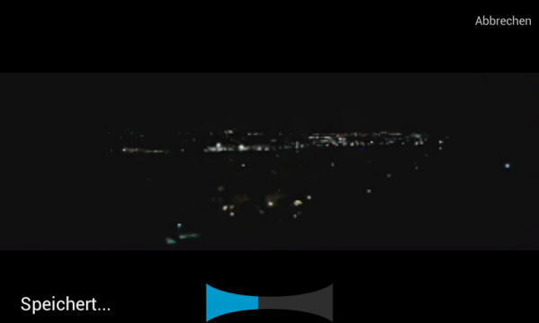Kamera Panoramaaufnahme