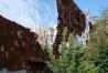 Häuserwand am High Line Park