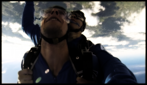 mySHA goes skydiving