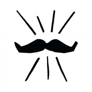 Movember Schnurrbart
